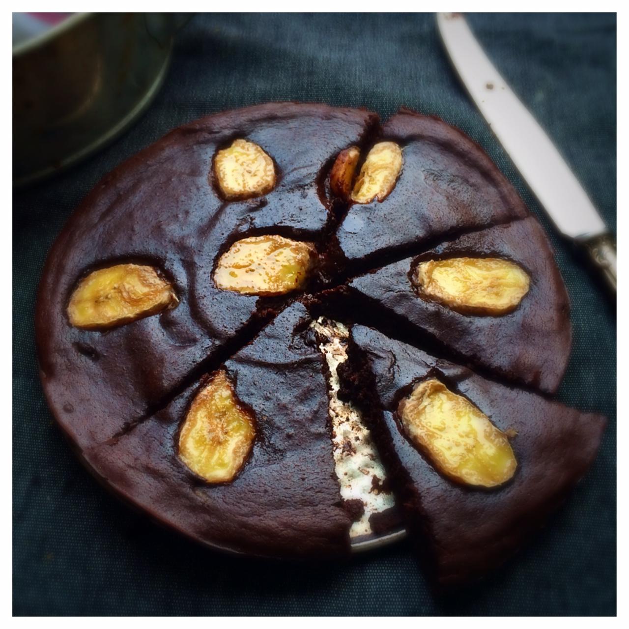 Glutenfri kladdkaka med choklad