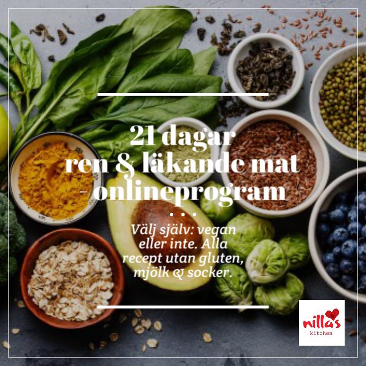 läkande mat för kroppen